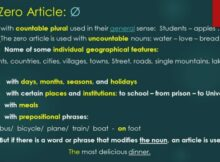 articol zero test engleza online