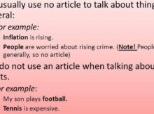 test engleza online articol zero